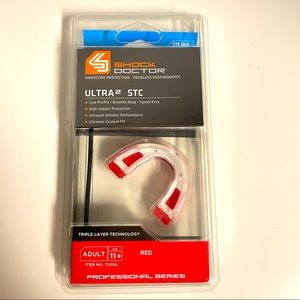 New Shock Doctor Ultra STC 2 Adult mouth guard